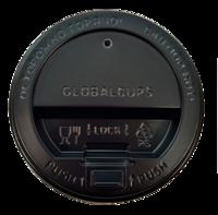 Крышка пластиковая GlobalCups 80 мм с клапаном